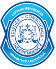 Latvijas republikas grāmatvežu asociācijas logo
